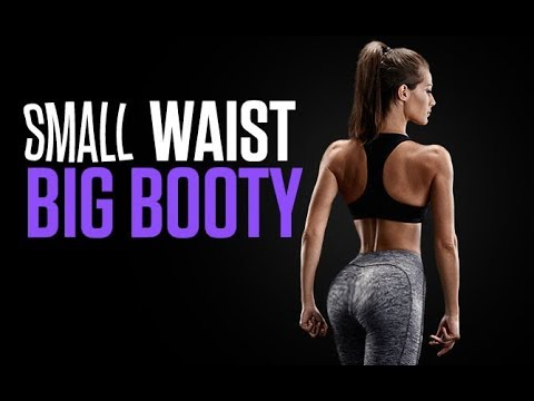 The SMALL WAIST | BIG BOOTY Workout (THIS BUILDS CURVES!!) thumbnail