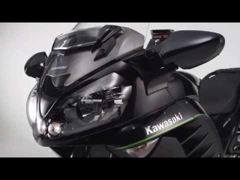 New Kawasaki 1400GTR MY15 - Official Video