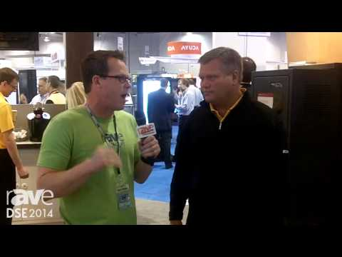DSE 2014: Gary Kayye Checks out the Chief Booth