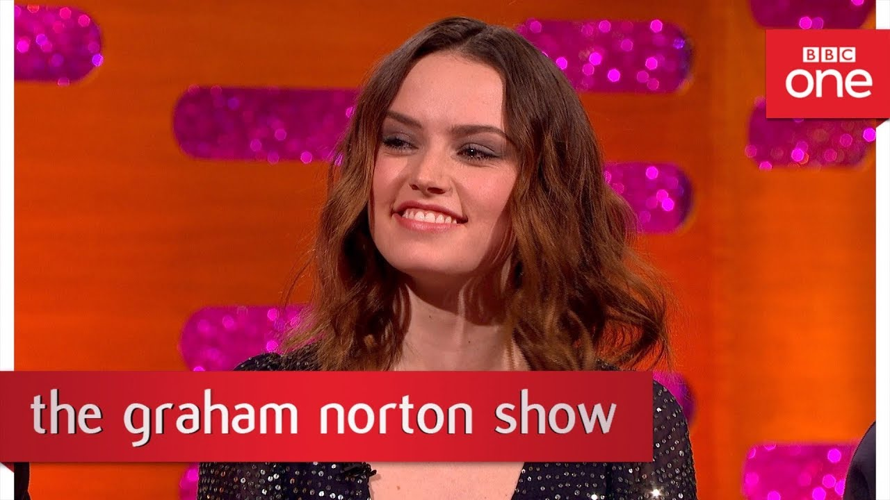Daisy Ridley remembers getting the part of Rey - The Graham Norton Show: 2017 - BBC One