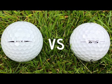 Titleist AVX vs Taylormade TP5  - Low Spin Golf Ball Face-Off !!!