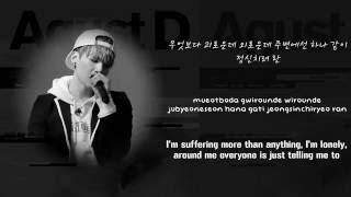 BTS Suga AGUST D - So Far Away Ft. Suran  HanRomEng