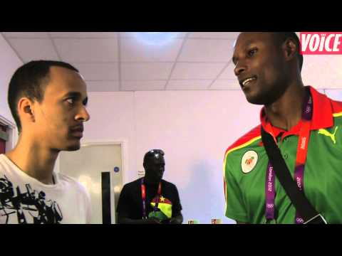 Out and about with the Voice of Sport: Kirani James