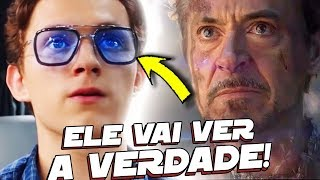 O SEGREDO OBSCURO DO TONY STARK SERA REVELADO EM HOMEM ARANHA LONGE DE CASA