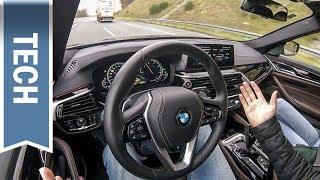 BMW Driving Assistant Plus im 5er BMW (2018) im Test: Automatisches Überholen