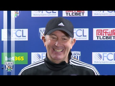 PRESS CONFERENCE: Tony Pulis previews Albion's Premier League fixture at Newcastle United