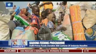 Kaduna Feeding Programme: Dufil Prima Foods Donates 500 Cartons Of Indomie