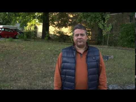 ALS Ice Bucket Challenge - Sigmar Gabriel nimmt Anne Wills Herausforderung an