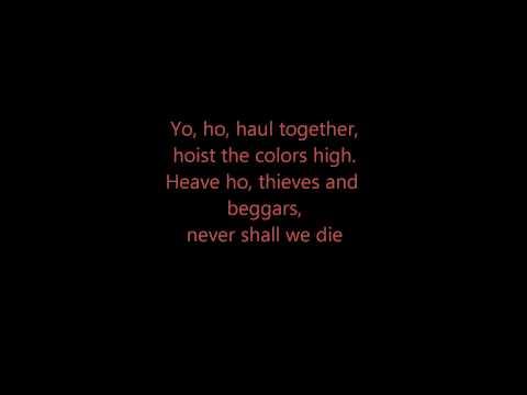 Hoist the colors - Lyrics