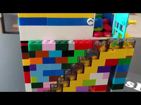 Easy diy #LEGO Candy dispenser. A fun easy LEGO project for kids #LEGOideas #LEGOclassic #LEGObuild