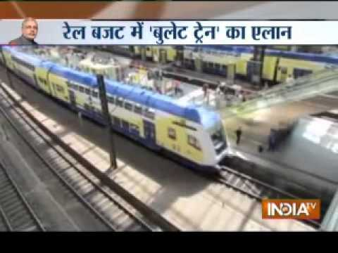 Railway budget may introduce bullet trains