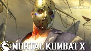 "THIS IS A REAL JASON VOORHEES BRUTALITY! - Mortal Kombat X ""Jason Voorhees"" Gameplay"
