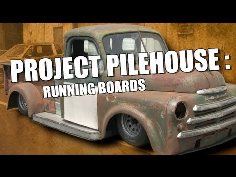 Fabricating Running Boards - Project Pilehouse DIY Custom Running Boards at Eastwood