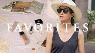 2019 Favorites   Vintage Jewelry, The Perfect Straw Hat, New Makeup & More