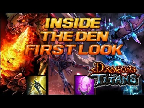 Dragons and Titans First Look Gameplay Review Inside the Den Feature