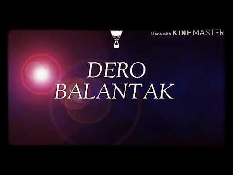 Dero balantak. By Jeff labotan