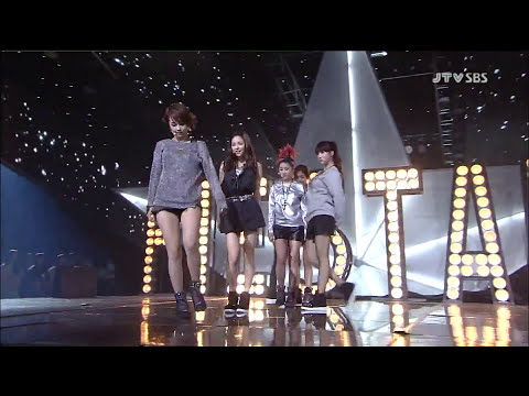 FIESTAR - VISTA @ Debut Stage (2 Sep,2012)