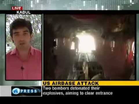 Taliban Attack US airbase in Kandahar, try to get inside.