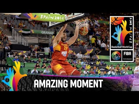 Iran v Spain - Amazing Moment - 2014 FIBA Basketball World Cup