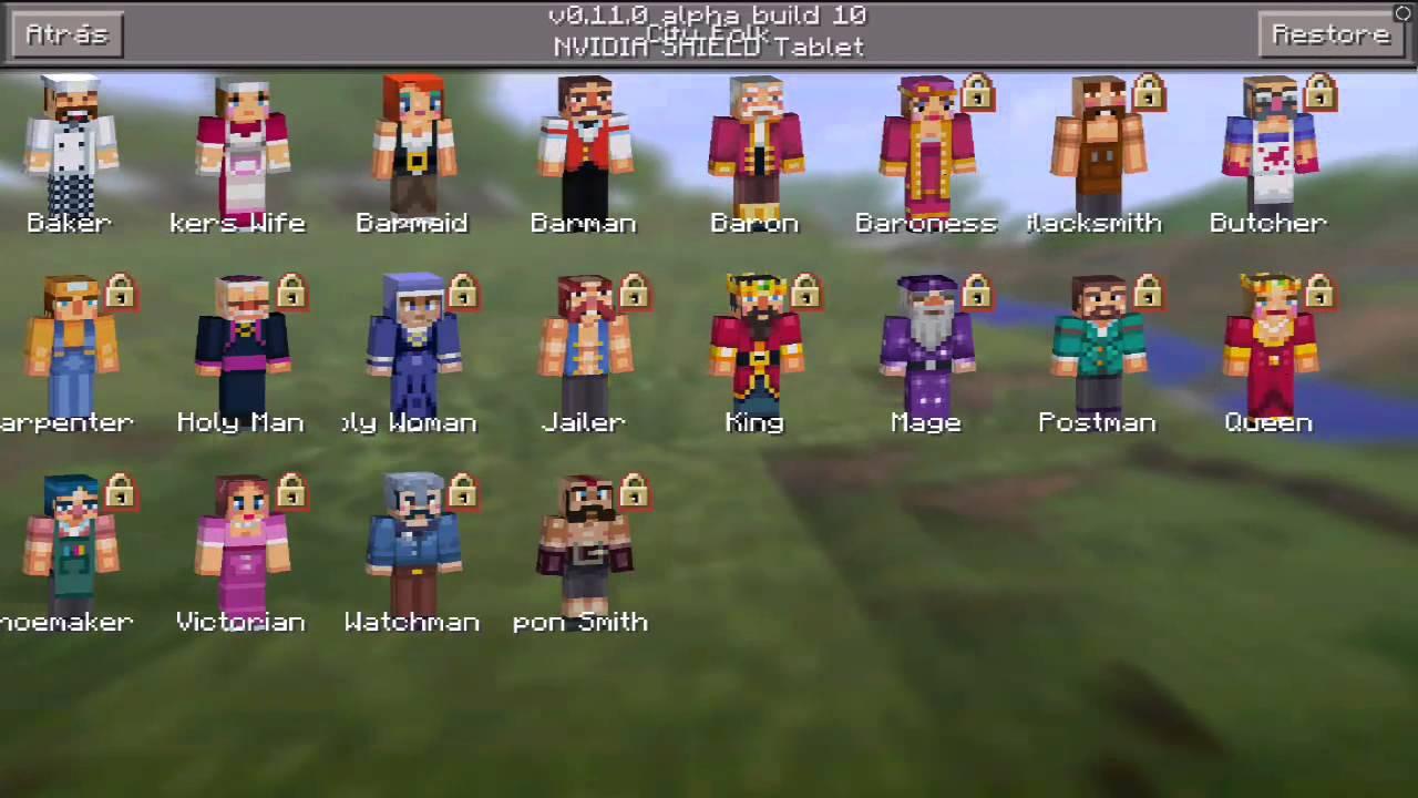 Minecraft pe 0.11.0 Build 10