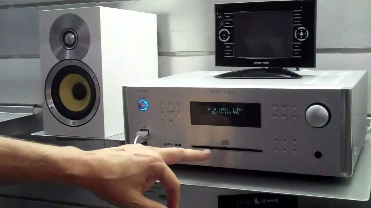 What Is Rotel >> Audio Video Today Cedia Expo 2010, New Rotel and B&W - YouTube