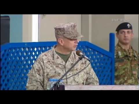 Gen Joseph Dunford Jr takes ISAF Command 11.02.13