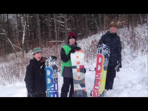 Back Country Snowboarding Central Vermont