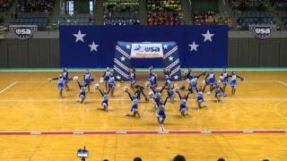 横浜立野高校チアダンス部 MAD.DIVAS in USA Regional Competition 2015
