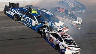 All NASCAR Crashes at Daytona 2017 #Speedweeks