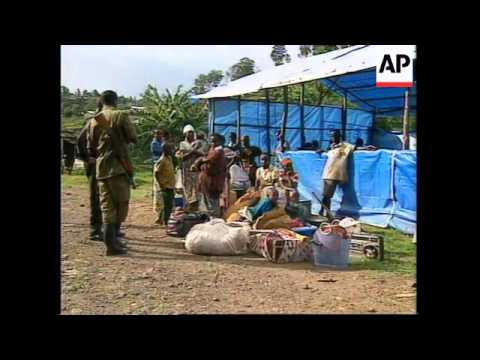 RWANDA: BUKAVU: RESIDENTS FLEE AS FIGHTING APPROACHES