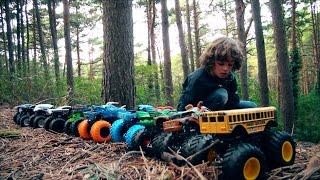 Hot Wheels CAMPEONATO 10 Monster Jam Descenso Extr