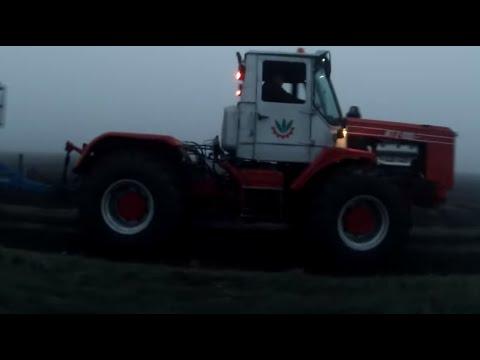 ХТЗ Т-150 Трактор + Култиватор K500 / HTZ T150 Tractor with kompactor