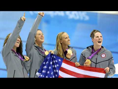 Allison Schmitt Leads U.S. To Gold Medal, Olympic Record In 4x200-Meter Freestyle Relay