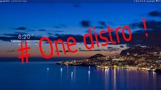 # One distro !   Zero trouble free miles !