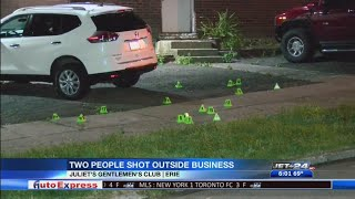 Shooting outside local business