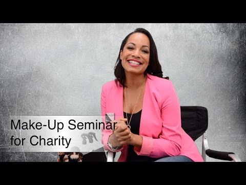 Realtor, Sophia Holguin, Hosting a Make-Up Seminar for KW Cares in Rancho Cucamonga