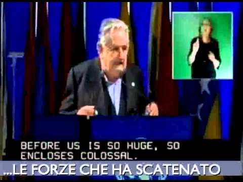 IL MIGLIOR DISCORSO DEL MONDO - Presid Jos Mujica - ITA - ENG - ESP