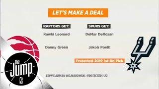 Were the Toronto Raptors smart trading DeMar Derozan for Kawhi Leonard? | The Jump | ESPN