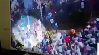 A video footage of bomb attack on Meskel Square