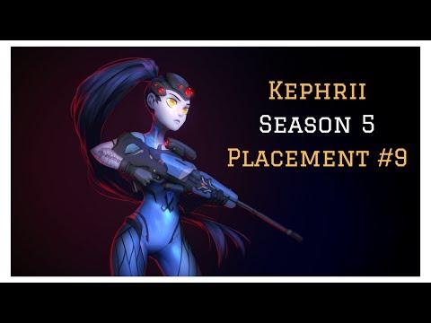 [Overwatch] Kephrii - Season 5 - Placement #9