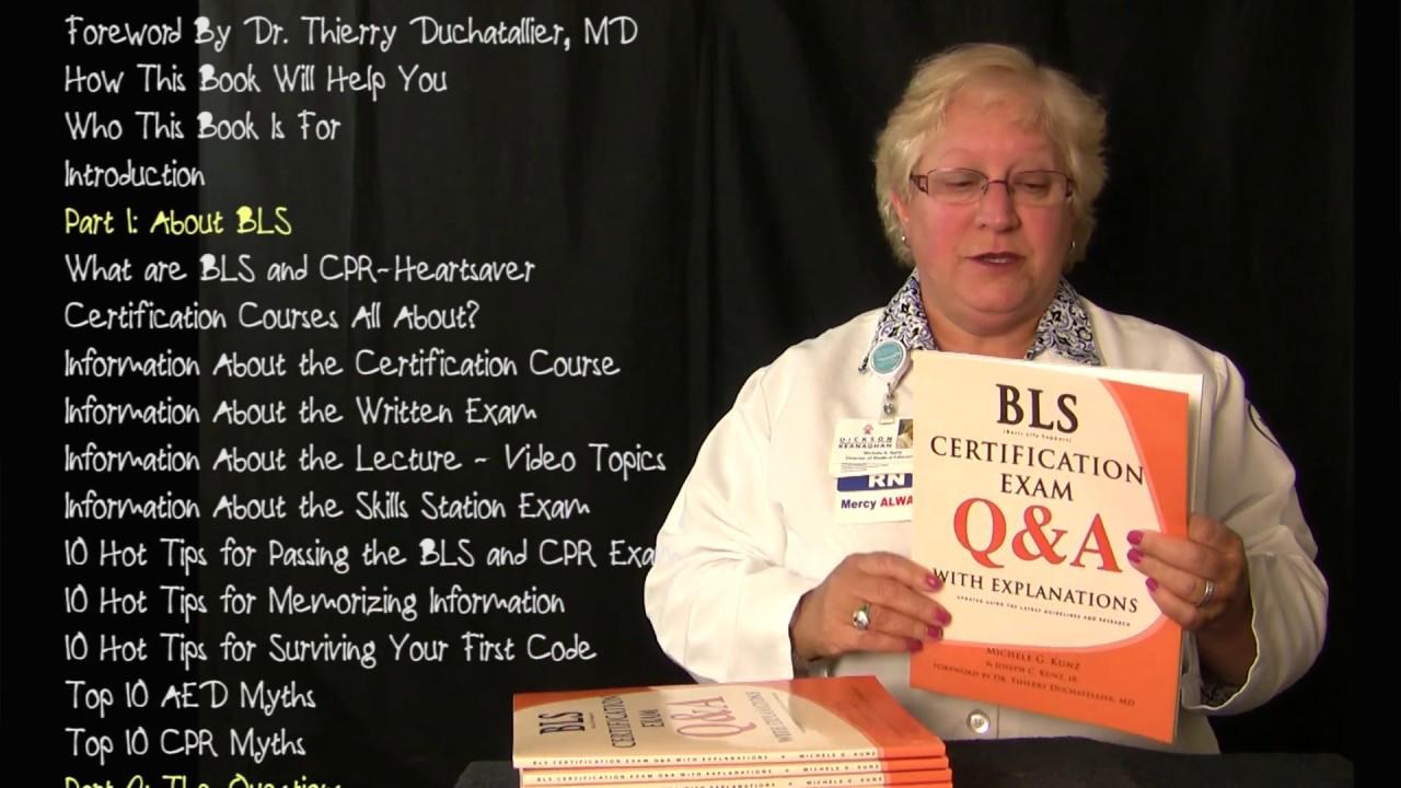 bls exam certification