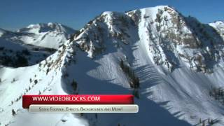Download a Free Snowy Mountain Stock Footage Clip from VideoBlocks