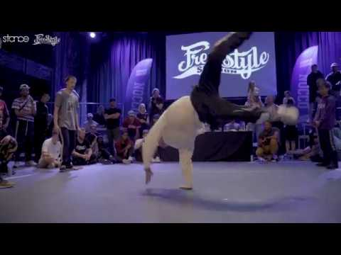 Monk & A.S vs Exaggerate & Tunde (semi) // .stance // Freestyle Session Norway 2018