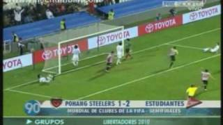 Estudiantes 2-1 Pohang Steelers