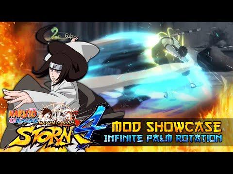 Neji Hyuga Infinite Palm Rotation!!! Naruto Shippuden Ultimate Ninja Storm 4 Mods thumbnail