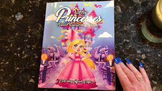 Little Princesses Coloring Book by Coloring Book Cafe