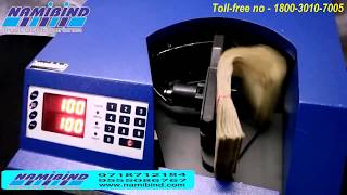 Bundle Note Counting Machine Cash Counting Coin Counter sorting Machine in Delhi Namibind