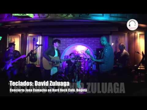 Concierto de Jona Camacho en Hard Rock Café Bogotá