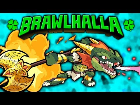 Luck o' the BRAWL!! • NEW SKINS, KO EFFECT, COLORS+ MORE!! • Brawlhalla Gameplay