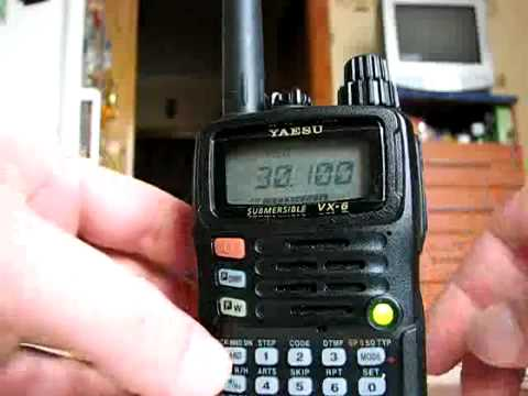 Yaesu VX 6R      30    YouTube